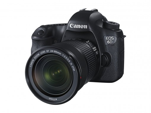 Canon EOS 6D inkl. 24-105 mm IS STM Objektiv