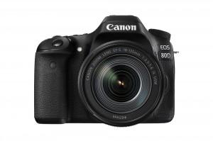 Canon EOS 80D + 18-135mm IS USM Objektiv