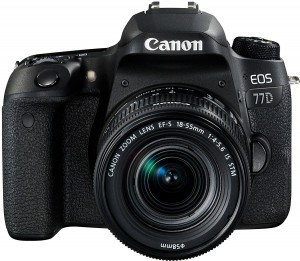 Canon EOS 77D + EF-S 18-55mm 1:4-5,6 IS STM