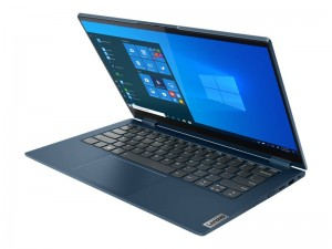 LENOVO ThinkBook 14s Yoga i5-1135G7 35,6cm 14Zoll FHD Touch 8GB 256GB SSD W10P64 integrated Graphics no WWAN Abyss Blue 1Y Topseller