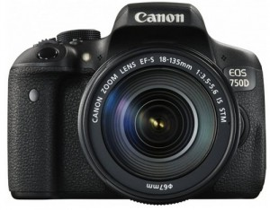 Canon EOS 750D + 18-135mm IS STM Objektiv
