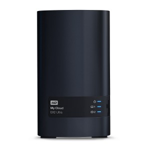 WD My Cloud EX2 Ultra NAS 16TB personal cloud stor. incl WD RED Drives 2-bay Dual Gigabit Ethernet 1,3GHz CPU DNLA RAID1 NAS RTL